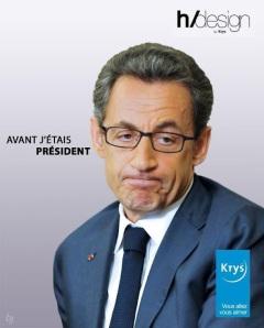 """Sarkozy  """"avant j'étais"""" président"""