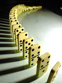 The_domino_effect