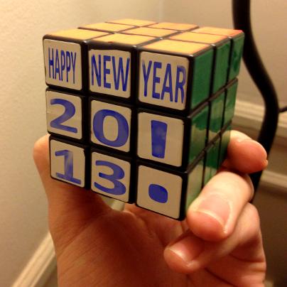 Happy New Year 2013 by Social Reflex