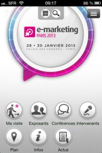 Appli EMP2013 - accueil