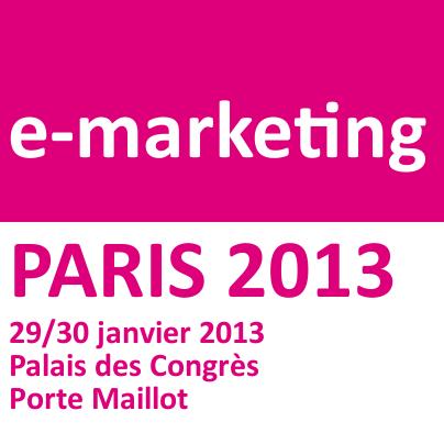 Salon e-Marketing Paris 2013-  #EMP2013