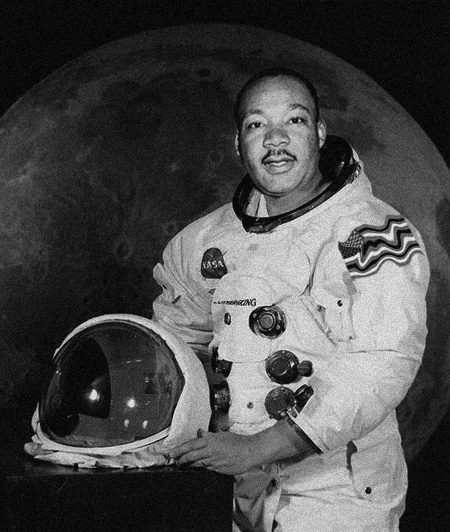 Martin Luther King - #MLKday - Neil Armstrong