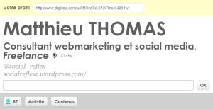 Matthieu Thomas - consultant webmarketing et social media - Clichy