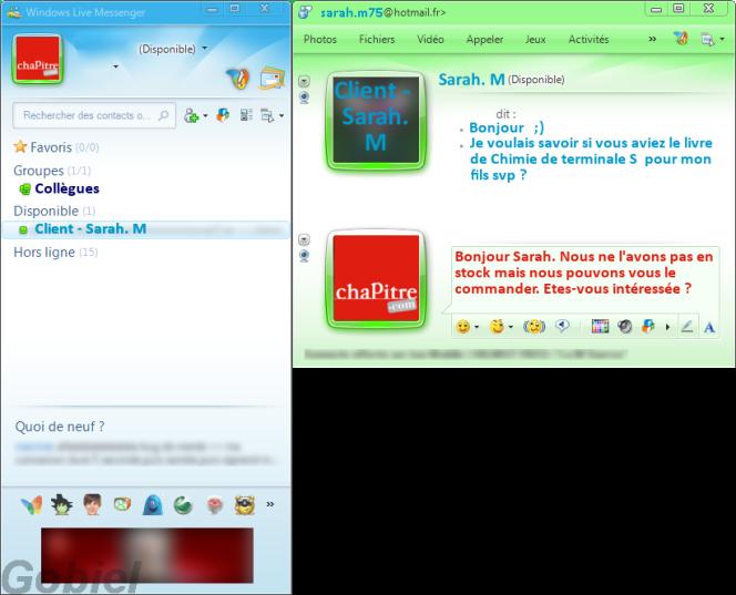 windows live messenger - Chapitre