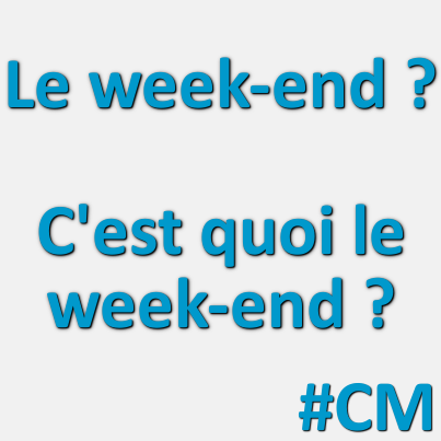 le métier de community manager - le week-end