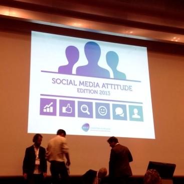 1er slide présentation Social Media Attitude