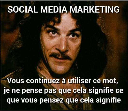 mauvaise utilisation du terme Social Media Marketing
