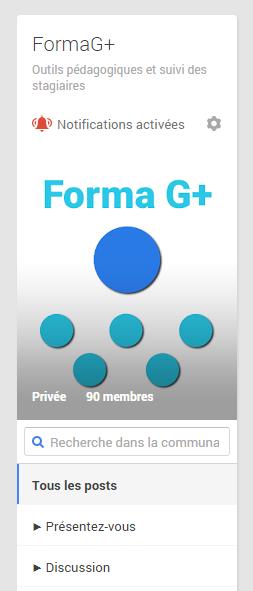 logo communauté google+