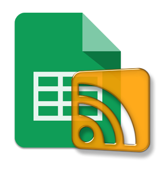 logo rss google sheets